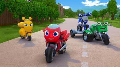 Ricky Zoom, tutti per uno e moto per tutti!