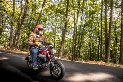 Honda Monkey: come li avete rilevati 55 km con un litro?