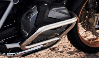 Paramotore per la GS, un lato meglio dell'altro?