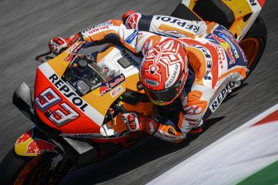 FP1: Marquez a due decimi dal record della pista