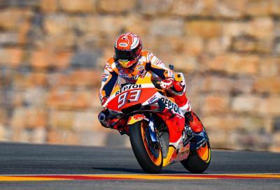 Aragon: Marquez domina la sua 200esima gara