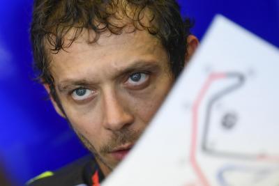 Rossi spiega perché soffre più delle altre Yamaha