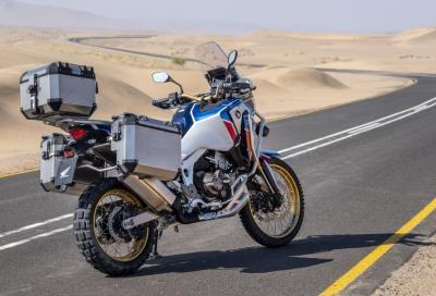 Gli accessori per la nuova Honda Africa Twin