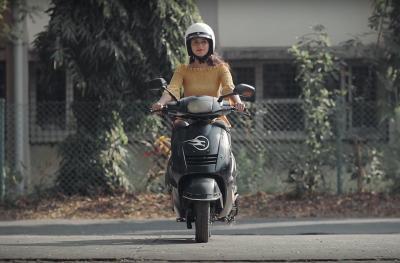 Dall'India arriva lo scooter che non cade mai