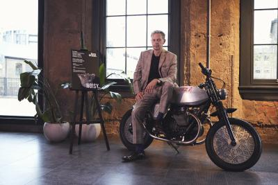 Moto Guzzi protagonista al London Design Festival