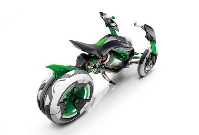 """Kawasaki, è ufficiale: """"In arrivo una moto a quattro ruote"""""""