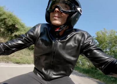"""Un giro su """"La Panoramica"""" per Valentino Rossi"""
