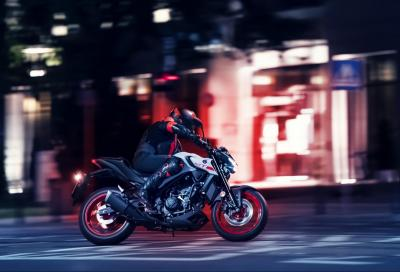 Yamaha presenta la nuova MT-03 2020