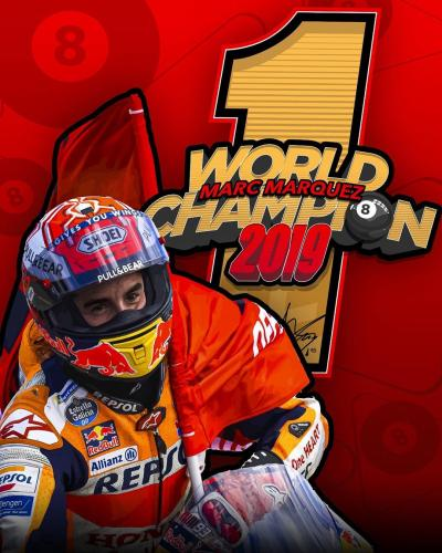 L'Ottava Meraviglia di Marquez, Campione MotoGP 2019
