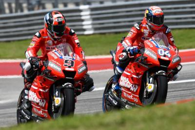 Ducati, con Dovizioso e Petrucci, al Festival dello Sport