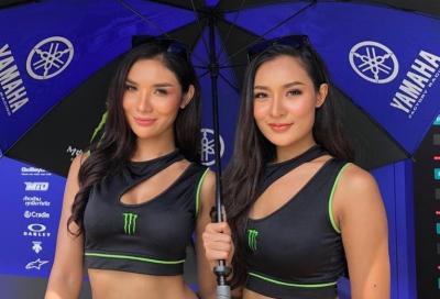 Le ragazze più belle della MotoGP 2019 a Buriram