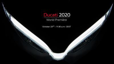 Segui qui, in diretta, la Ducati World Première 2020