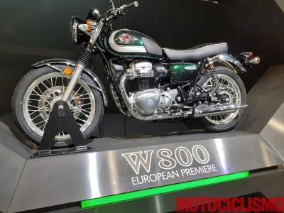 Kawasaki completa la gamma retrò con la nuova W800