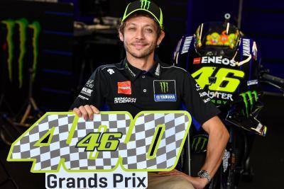 #Rossi400: Valentino da record a Phillip Island