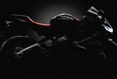 Le prime immagini dell'Aprilia RS 660 in veste definitiva