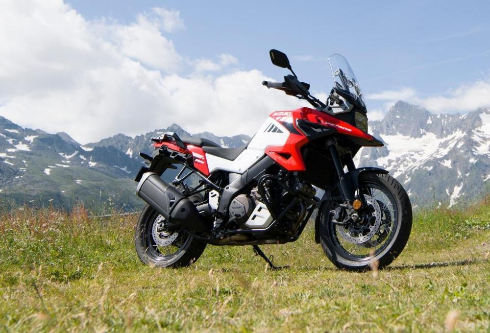 Ispirata al passato arriva la nuova Suzuki V-Strom 1050