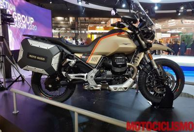 """La Moto Guzzi V85 TT diventa """"Travel"""""""