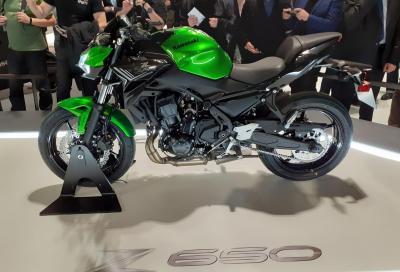 Kawasaki aggiorna la Z650