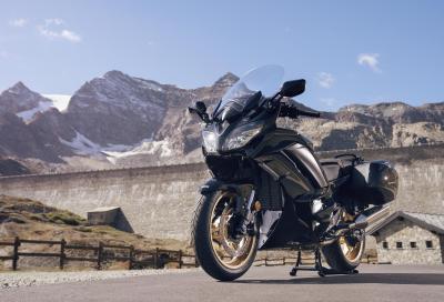 Le nuove Yamaha FJR1300AS e FJR1300AE Ultimate Edition