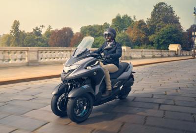 Yamaha Tricity 300: pensato per la città