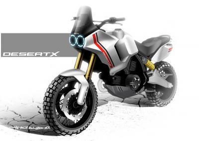 Ducati rivela i primi dettagli della Scrambler Desert X
