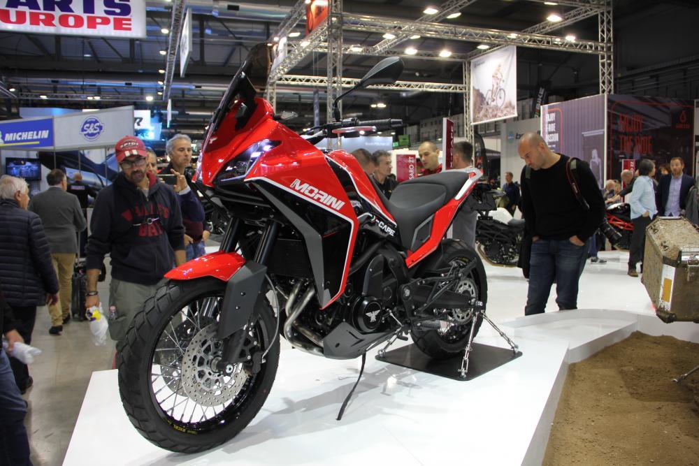 Moto Morini si lancia all'avventura con la nuova X-Cape