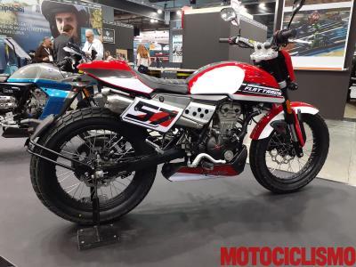 FB Mondial Flat Track 125, con motore Euro 5
