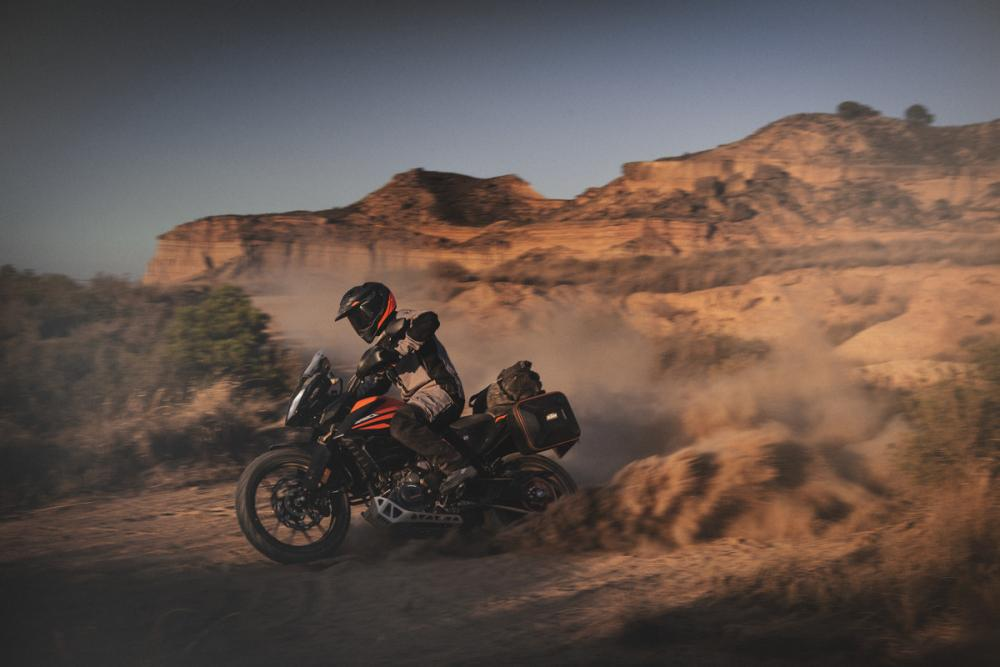 KTM 390 Adventure, enduro entry-level