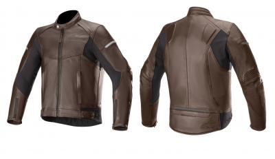 Alpinestars, due nuove giacche in pelle