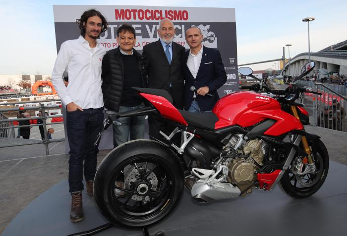 """Ducati Streetfighter V4: è lei la """"Moto più bella del Salone"""""""