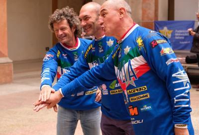 Sei Giorni Veterans: l'Italia in gara con tre Leggende