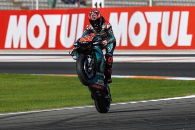 Quartararo si aggiudica l'ultima pole del 2019