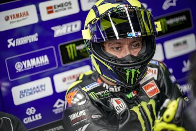 """Rossi: """"2019 tra alti e bassi. Non sono contento"""""""
