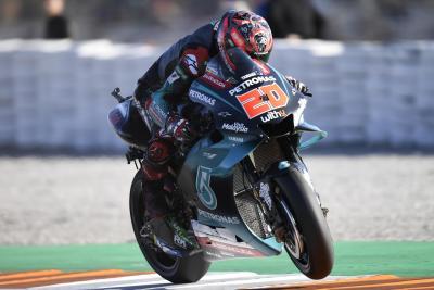 Valencia, day 1: tre Yamaha al top. I tempi a fine giornata