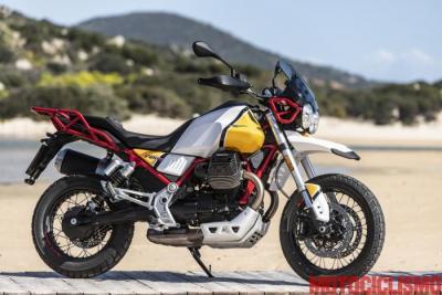 Perché la camera d'aria sulla Moto Guzzi V85 TT?