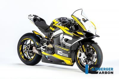Abito in carbonio per la Ducati Panigale V4 R