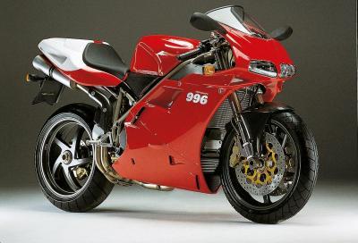 """""""Ho scelto la data del matrimonio in omaggio alla Ducati 996"""""""