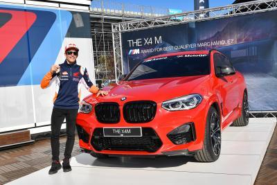 Marquez vince per la settima volta il BMW M Award