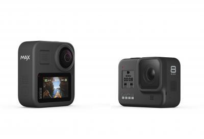 Le nuove GoPro Hero8 Black e Max