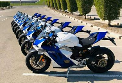 Ducati Panigale V4R per la Polizia di Abu Dhabi
