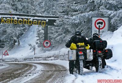 Multe fino a 338 euro per chi circola sulla neve