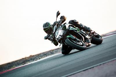 In azione con la nuova Kawasaki Z H2