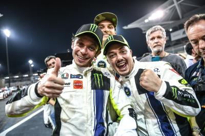 Valentino Rossi porta la Ferrari sul podio della 12 Ore del Golfo