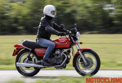Moto Guzzi V 50: la moto d'epoca più cliccata