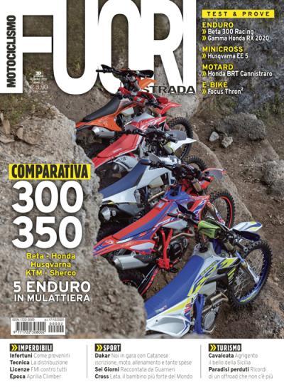Motociclismo FUORIstrada di gennaio/febbraio 2020 è in edicola