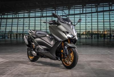 Yamaha presenta il nuovo TMAX 560, anche in versione Tech MAX