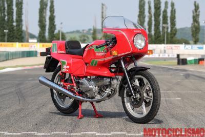 Ducati a un passo dall'inferno. La storia della Pantah SL 350