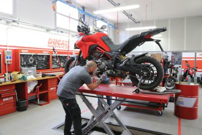 Ducati Service Warm Up: 20% di sconto sugli interventi