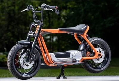 Lo scooter elettrico Harley-Davidson vicino alla produzione