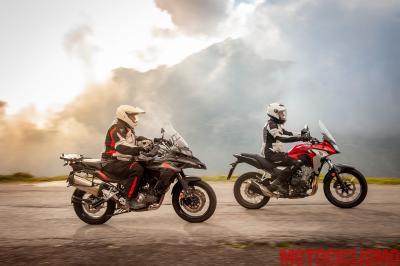 Benelli TRK 502 X vs Honda CB500X